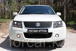 Накладки на передние фары (реснички) Suzuki Grand Vitara 2008-