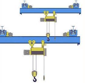 Кран мостовой однобалочный подвесной однопролётный г/п 2 т пролет 4,5 м