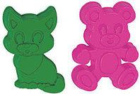 Формочки (котёнок + медведь)