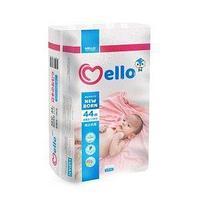 Mello Подгузники Mello Premium 0, NB, до 5 кг, 44 шт/упак.