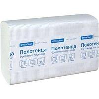 OfficeClean Полотенца бумажные OfficeClean Professional, Z - сложение, слоев - 2, 21,5*24 см., 200шт/уп.