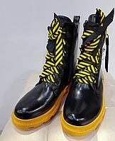 Ботинки лаковые, фото 1