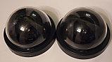 Муляж камеры видеонаблюдения с моргающим красным маячком, фото 4