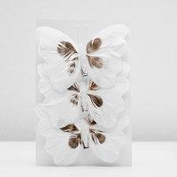 Декор бабочка 12 х 8,5 х 1 см МИКС (комплект из 3 шт.)