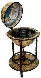 """Глобус бар """"BRIGANT """"Сокровища древнего мира"""" d=42см, 50*50*90см"""