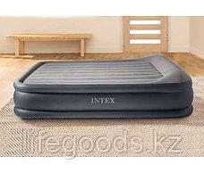 Двуспальная надувная кровать со встроенным насосом, Intex 64136, фото 2