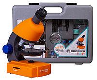 Микроскоп Bresser Junior 40–640x с набором для опытов, в кейсе, фото 1