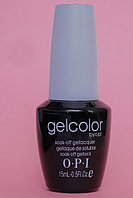 Гель лак Gelcolor by OPI  № 114  Черный