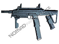 Пейнтбольный Маркер Tippmann TCR MagFed (Tactical Compact Rifle) - Black