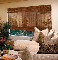 Бамбуковые рулонные шторы , фото 1