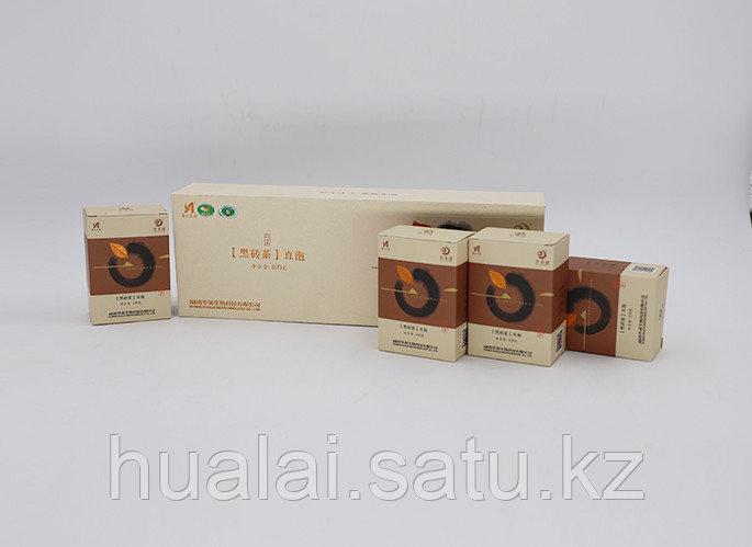 Черный кирпичный чай  Хуа Лай Цзянь. 400 грамм. 4 коробки.