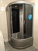 Душевая кабина ERLIT ER3509TP-C4 900*900*2150 высокий серый поддон, тонированное стекло