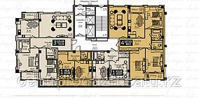 1 комнатная квартира в ЖК Liberty (Либерти)  43.44 м²
