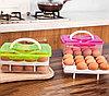 Контейнер для хранения яиц 24 шт. салатовый, фото 5