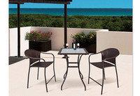 Набор мебели, стол+2стула, искусственный ротанг, фото 2