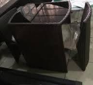 Набор мебели, стол+2стула, искусственный ротанг, фото 3