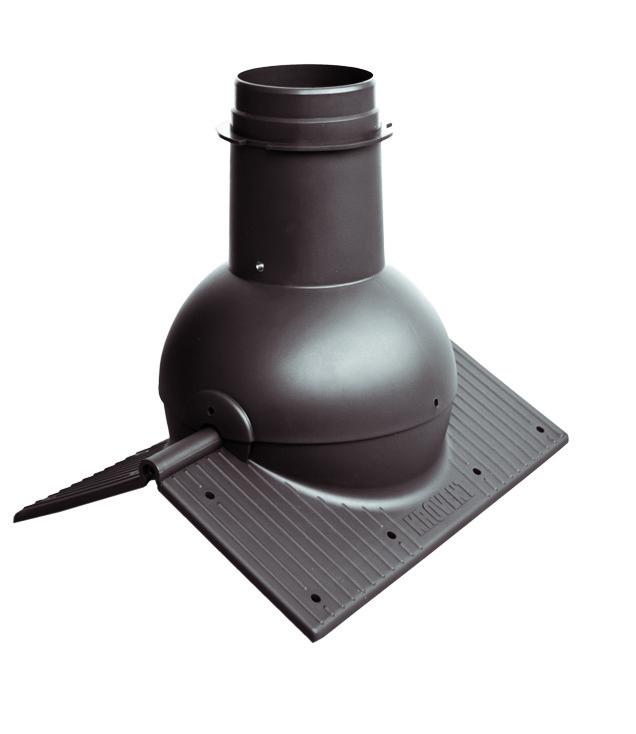 Pipe-Cone - коньковый вентиляционный выход для любого типа кровли.