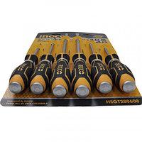 Набор ударных отверток 6 шт. INGCO HSGT280608