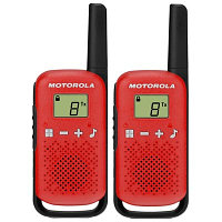 Радиостанции Motorola TALKABOUT T42 Red Twin Pack
