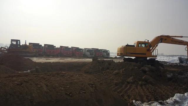 Строительство дороги Западная Европа-Западный Китай. -1
