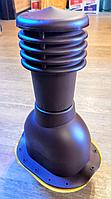 Вентиляционный выход на металлочерепицу монтерей (Польша) коричневый, черный, графит