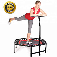 Фитнес батут Get Jump Red с нагрузкой до 120 кг, фото 1