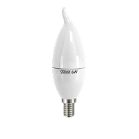 LD34116  Лампа Gauss LED Elementary  Candle Tailed 6W SMD E14 2700K