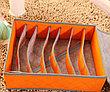 Органайзер для нижнего белья с крышкой 7 отделений оранжевый, фото 2