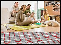 Установка теплого электрического пола в жилых помещениях