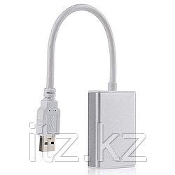 Kабель-переходник PowerPlant USB 3.0 M - HDMI Female