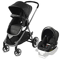 Коляска-траснформер 2в1 Evenflo Gold Travel System Shyft Black