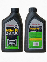 Toyota Synthetic Motor Oil 0W-20