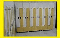 Шкафчики для одежды L-образный, 2-х местный, фото 1