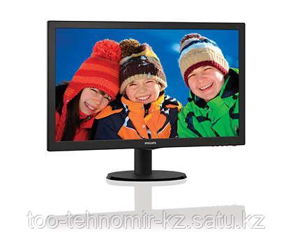 "Монитор 21.5"" PHILIPS 223V5LHSB/01 TFT 1xVGA 1xHDMI W-LED Full HD 16:9 1xVGA5мс 1920x1080 250кд/м2"