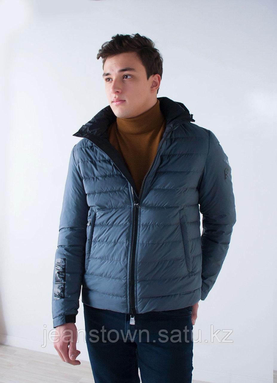 Куртка мужская  демисезонная  Vivacana серая ,короткая