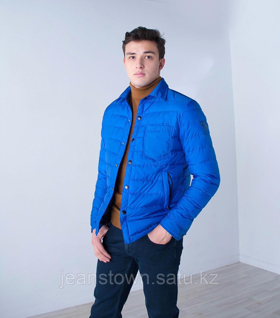 Куртка мужская  демисезонная Vivacana ярко синяя
