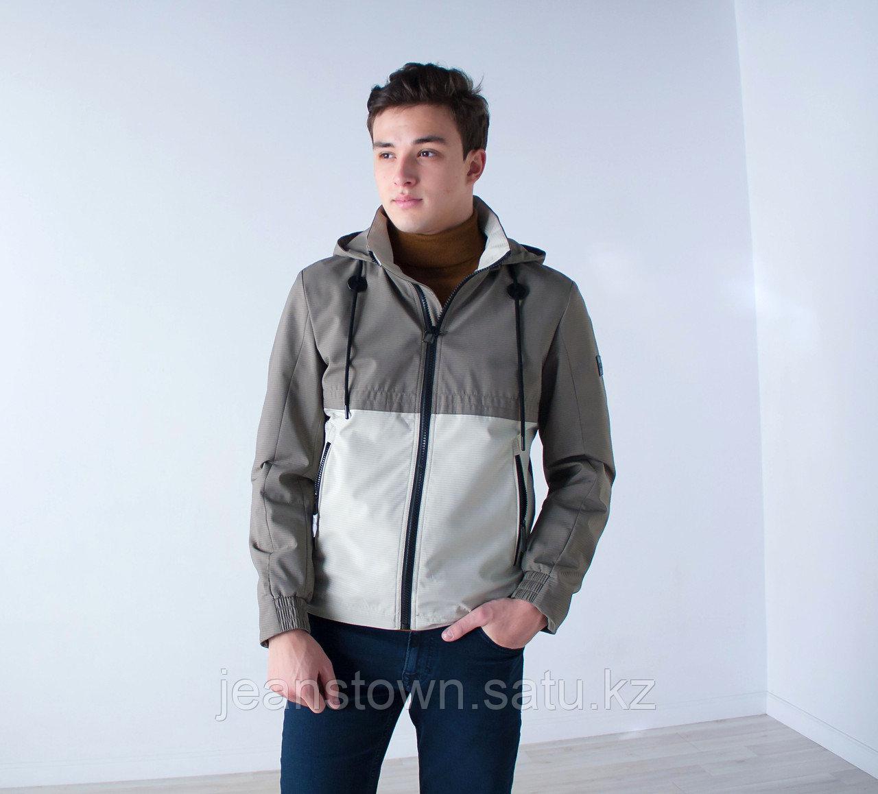Куртка мужская  демисезонная Vivacana  бежевая