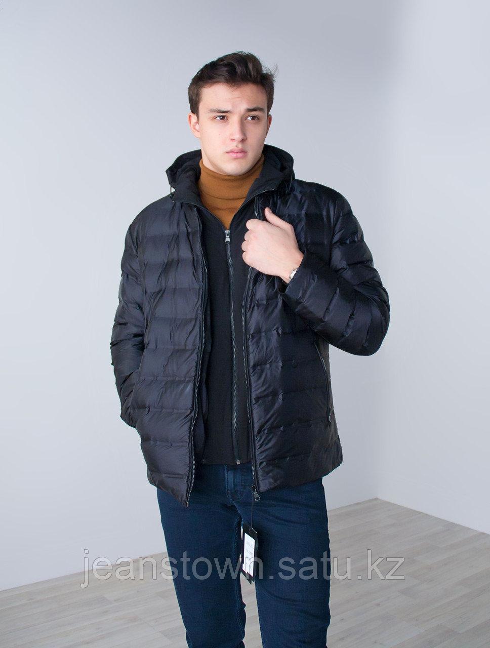 Куртка мужская  демисезонная  City Class черная,короткая