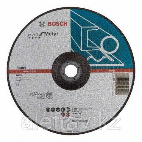 BOSCH, Отрезной круг металл 230*1,9м