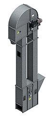 Нория вертикальная для погрузки зерна и сыпучих материалов НПЗ-175 15м