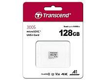 Transcend TS128GUSD300S Карта памяти MicroSD 128GB Class 10 U3