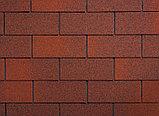 Гибкая черепица Ruflex (Коллекция TAB) Красный лис, SBS (СБС) модифицированный битум, Гарантия 35 лет!, фото 2