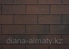 Гибкая черепица Ruflex (Коллекция TAB) Тёмный шоколад , SBS (СБС) модифицированный битум, Гарантия 35 лет!