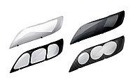 Защита фар /очки на Subaru Legecy/Субару Легаси 1998-2002 темные