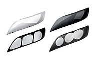Защита фар /очки на Subaru Legecy/Субару Легаси 1998-2002 прозрачные