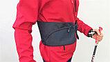 Чехол/пояс NWALK (красный) для скандинавских палок, фото 7
