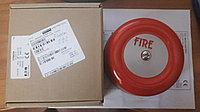 1320826 FIRE ALARM BELL RED, 152mm DIA, 24V DC / Звонок громкого боя, красный, диаметр 152мм,  24В (пост. ток)