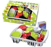 Набор игрушечной посуды 100% Chef Ecoiffier (45 предметов)