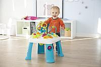 Развивающий игровой стол Cotoons Smoby синий, 47х47х49 см