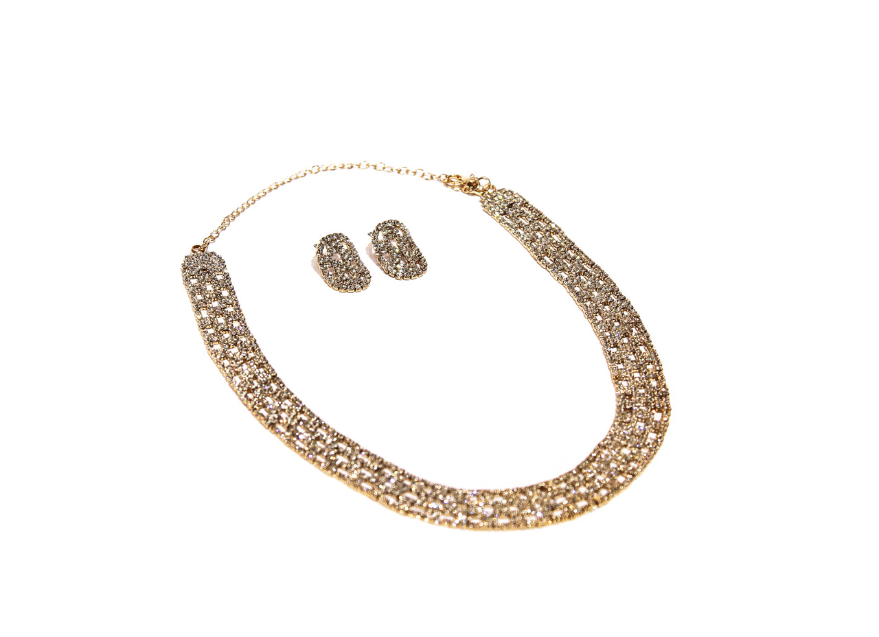 Наборы вечерние Brosh Jewellery Тренд 2020г. Кристалл.